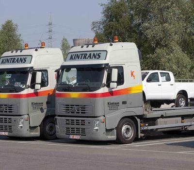 transport van landbouwtractoren